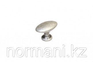 Мебельная ручка для кухни серебро античное
