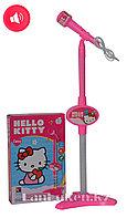 Микрофон со стойкой Hello Kitty
