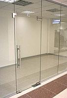 Все стеклянные перегородки для офиса стекло 10мм