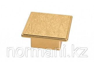 Ручка-скоба 32-32 мм, отделка золото