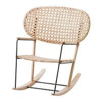 Кресло-качалка ГРЁНАДАЛЬ естественный ИКЕА, IKEA, фото 1