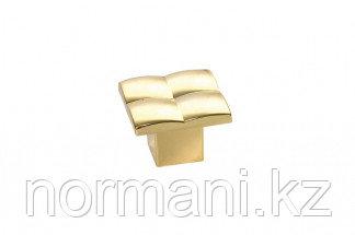 Ручка-кнопка, отделка золото глянец