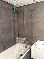 Ограждения из стекла для ванной комнаты, фото 1
