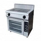Плита электрическая 2-х конфорочная с жарочным шкафом