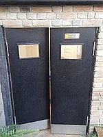 Ковбойская (маятниковая) двухстворчатая дверь