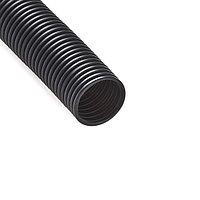 Труба гофрированная, РУВИНИЛ, 25001, 50мм, ПНД, с зондом легкая, Безгалогенная, Чёрная, 15 м/б