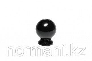 Ручка-кнопка, отделка чёрный глянец