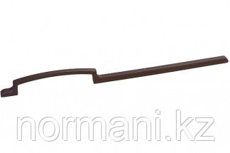 Ручка-скоба 288мм, отделка мокко темный