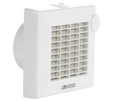 Вытяжной вентилятор с клапаном для ванной PUNTO M120/5 АТ, фото 2