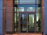 Двери из алюминия входные, фото 1