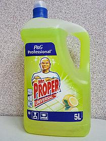 Mr. Proper 5 литров дезинфицирующий, лимон