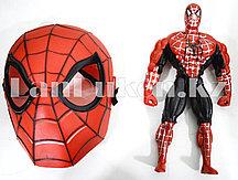 Набор детская маска и фигурка Человек Паук