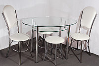 Столы стеклянная мебель