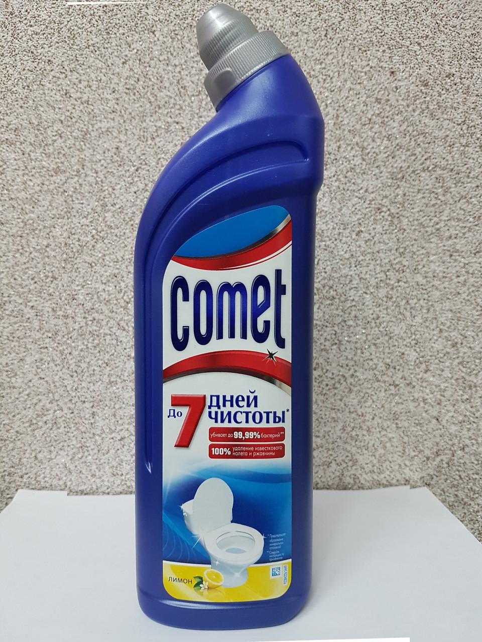 Чистящее средство для туалета Comet, Лимон, 750 мл