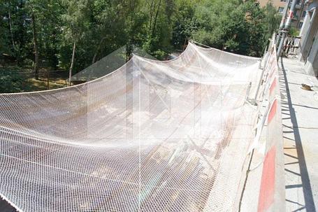 Защитно-улавливающая сетка 3,5 х 6 метр, фото 2