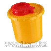 Контейнер для сбора острого инструмента  0,5 литров