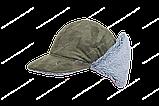Бейсболка утепленная Кондор. тк.Замша, цв. олива (59-60, 61-62), фото 2