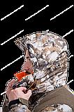 """Костюм """"Трофей"""" р.52/182  коричневые соты, тк.мембр.трикотажное полотно, фото 2"""