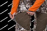 """Костюм """"Трофей"""" р.52/182  коричневые соты, тк.мембр.трикотажное полотно, фото 6"""