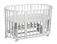 Овальная кровать-трансформер Папа Карло, фото 1