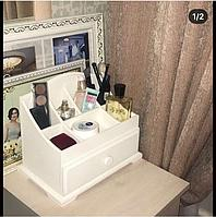 Комодик для косметики с 1 ящиком «Белый», фото 1