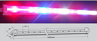 Линейная фитолампа 30W 120 см красный: синий 4:1
