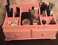 Комодик розовый для косметики, фото 1