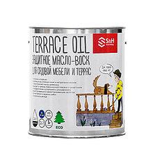 TERRACE OIL 2 in 1 - Защитное масло-воск для садовой мебели и террас 0.9кг