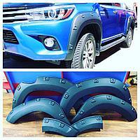 Расширители арок на Toyota Hilux/Revo 2015+