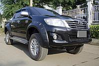 Расширители колесных арок для Toyota Hilux/Vigo 2012-15