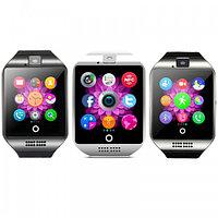 Сенсорные часы телефон Smart Q18 Black/Grey, фото 1