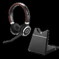 Беспроводная гарнитура Jabra Evolve 65 Charging Stand, Link370, Stereo MS (6599-823-399)