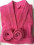 Женский халат-кимоно махровый, фото 2