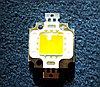 Фито светодиод матрица BridgeLux 10W полного спектра 380 - 840 нм с белым светом свечения