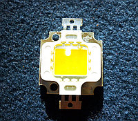 Фито светодиод матрица BridgeLux 10W полного спектра 380 - 840 нм с белым светом свечения, фото 1