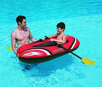 Надувная лодка с веслами