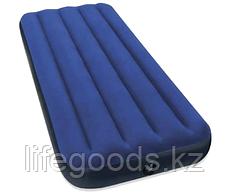 Односпальный надувной матрас 76х191х22 см, Intex 68950, фото 2