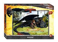 """Мозаика """"puzzle"""" 104 """"Драконы"""" (DreamWorks)"""
