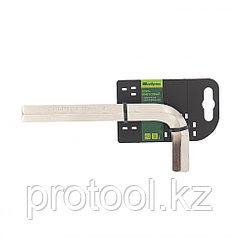 Ключ имбусовый  HEX, 17мм, 45x, закаленный, никель//Сибртех