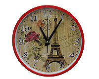 Часы настенные Франция, красные