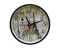 Часы настенные Франция, черные