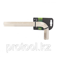 Ключ имбусовый  HEX, 24мм, 45x, закаленный, никель//Сибртех