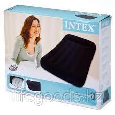Односпальный надувной матрас 99х191x23см с подголовником, Intex 66767, фото 3