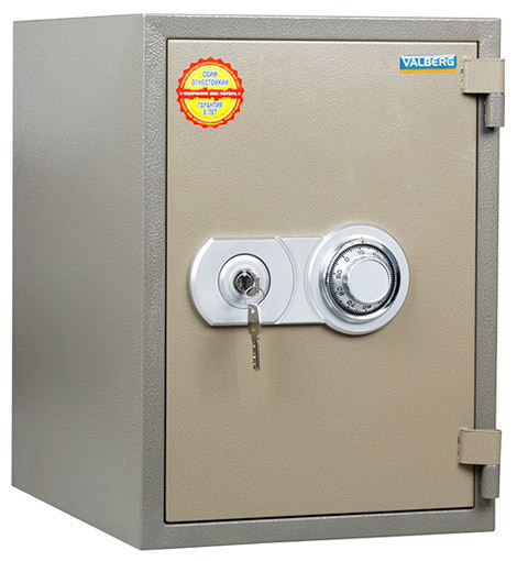 Огнестойкий сейф VALBERG FRS-49 CL  (490x350x430)