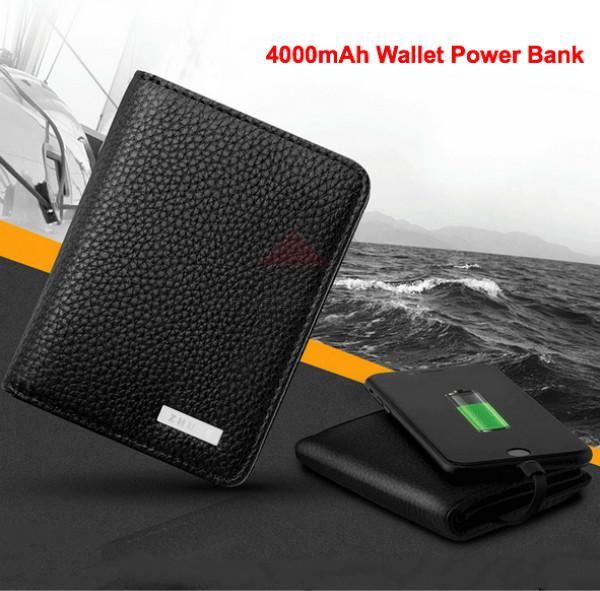 Кошелек со встроенной батареей.Wallet Power Bank