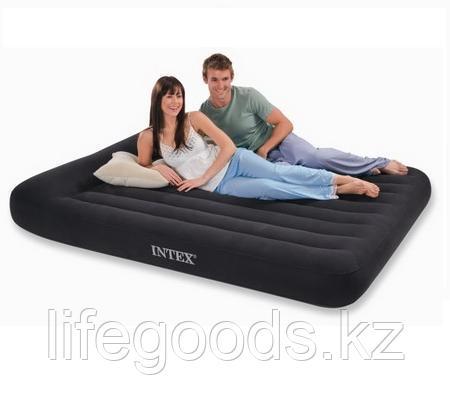 Двуспальный надувной матрас 203x152x25 см, Intex 66769