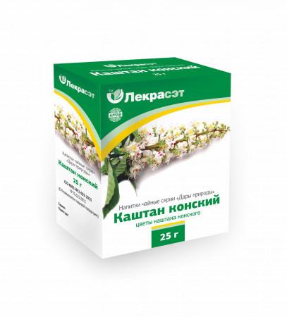 Каштан конский, цветы 25г