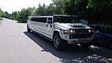 Аренда лимузина Hummer H2 (Хамер), белый, фото 6