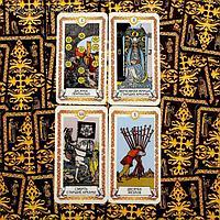 """Карты Таро """"Универсальные"""", 78 карт. 6,5x11,4 см, Сима Лэнд, фото 1"""