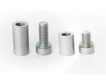 Алюминиевые дистанционные держатели ЛЮКС